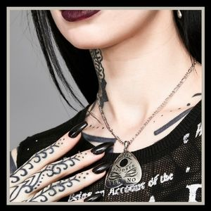 New! Dolls Kill Planchette Necklace